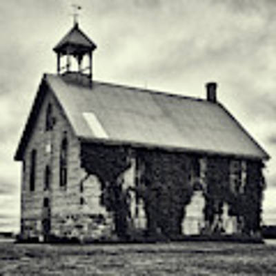 Abandoned Schoolhouse Poster by Garvin Hunter