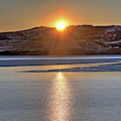 Angostura Sunset Poster by Bill Gabbert