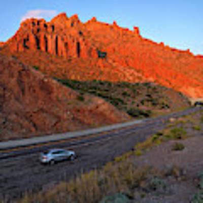 Arizona Highway  Poster by Chance Kafka
