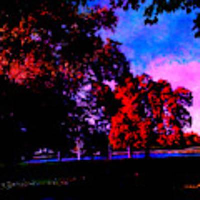 Autumn Trip Poster by Jeff Iverson