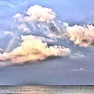 Between Clouds Poster by Kim Bemis