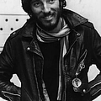 Bruce Springsteen Poster by Monty Fresco