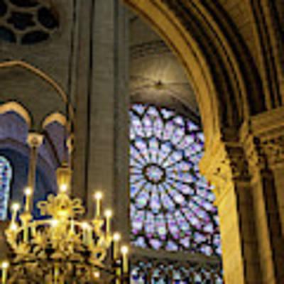 Cathedrale Notre Dame De Paris Poster by Brian Jannsen
