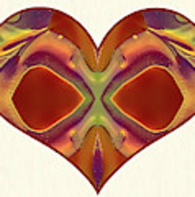 Colorful Heart - Naked Truth - Omaste Witkowski Poster by Omaste Witkowski