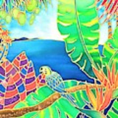 Colorful Tropics 16 Poster by Hisayo Ohta