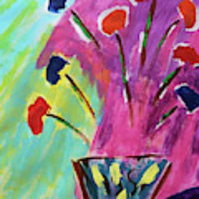 Flowers Gone Wild Poster by Deborah Boyd