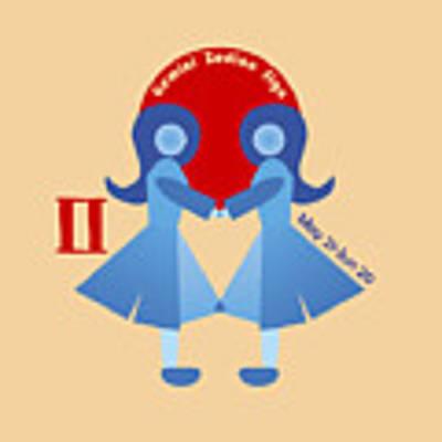 Gemini - Twins Poster by Ariadna De Raadt