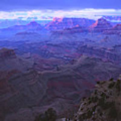 Grand Canyon Twilight Poster by Chance Kafka
