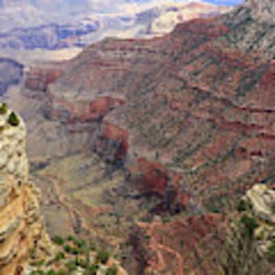 Grand Canyon View 4 Poster by Dawn Richards