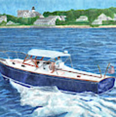 Great Ackpectations Nantucket Poster by Dominic White