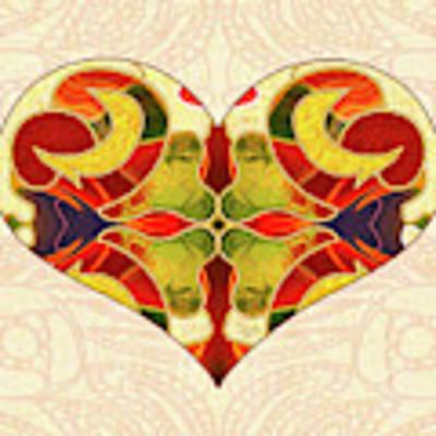 Heart Illustration - Creating Passionate Experience - Omaste Witkowski Poster by Omaste Witkowski