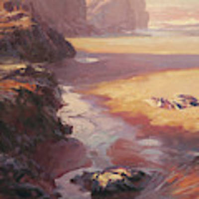 Hidden Path To The Sea Poster by Steve Henderson