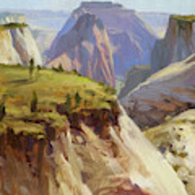 High On Zion Poster by Steve Henderson