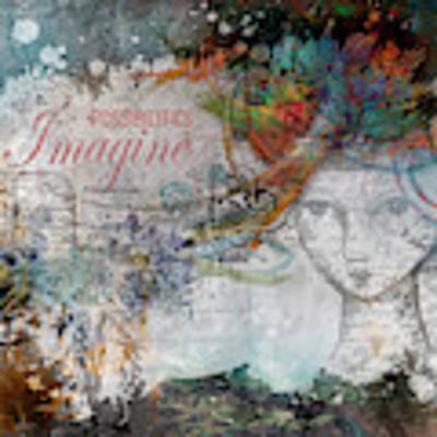 Imagine Possibilities Poster by Jacqui Boonstra