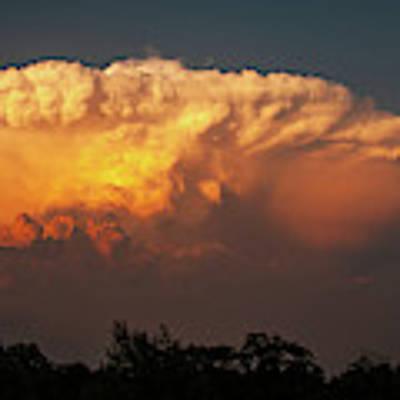 Kansas Thunderhead Poster by Jeff Phillippi