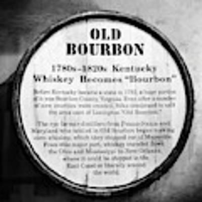 Kentucky Bourbon History Poster by Mel Steinhauer