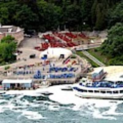 Maid Of The Mist Tour Boat At Niagara Falls Poster by Rose Santuci-Sofranko