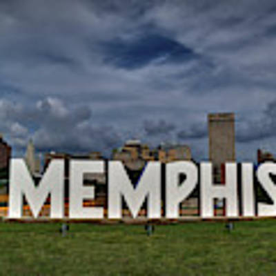 Mud Island Memphis Monument 001 Poster by Lance Vaughn
