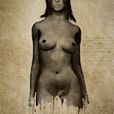 Naomi Standing In Front Poster by Jan Keteleer