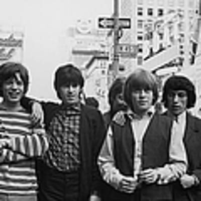 New York Stones Poster by Express Newspapers