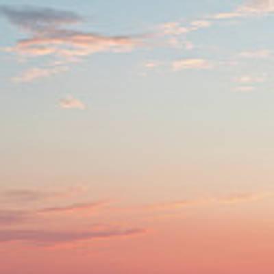 Outer Banks Sailboat Sunset Poster by Nathan Bush