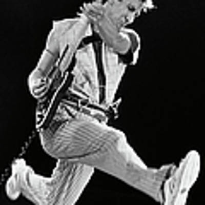 Pete Townshend Of The Who Poster by George Rose