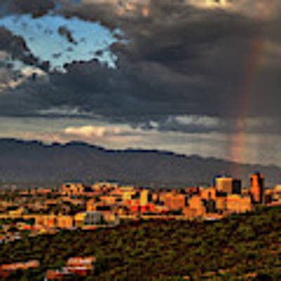 Rainbow Over Tucson Poster by Chance Kafka