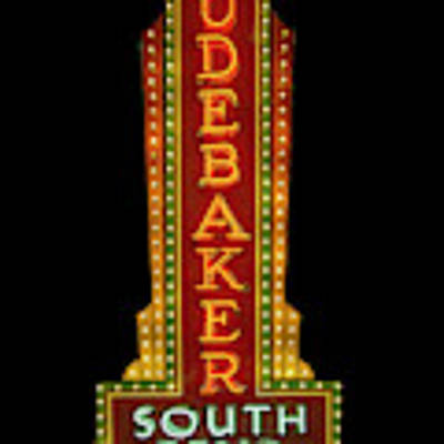 Studebaker Neon Sign Poster by Susan Rissi Tregoning