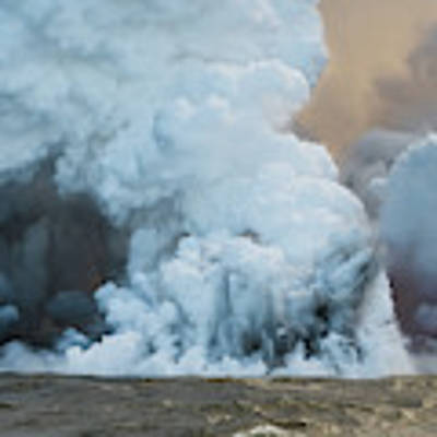 Submerged Lava Bomb Poster by William Dickman