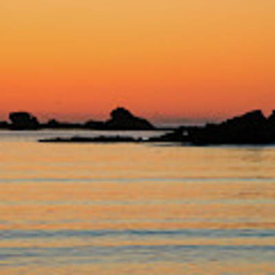 Sunset Over Sunset Bay, Oregon 5 Poster by Dawn Richards