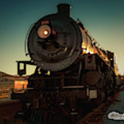 Sunset Steam Train 539 Poster by William Havle