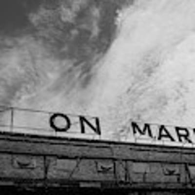 Union Market The Original Sign Washington Dc Poster by Edward Fielding