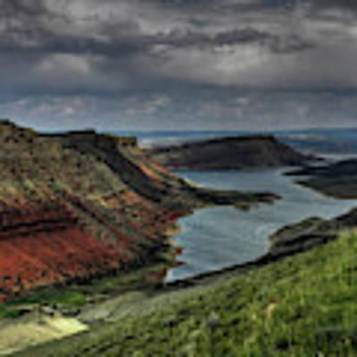 Utah - Flaming Gorge 005 Poster by Lance Vaughn