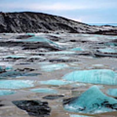 Vatnajokull Glacier 3 Poster by Dubi Roman