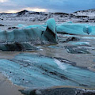 Vatnajokull Glacier 5 Poster by Dubi Roman