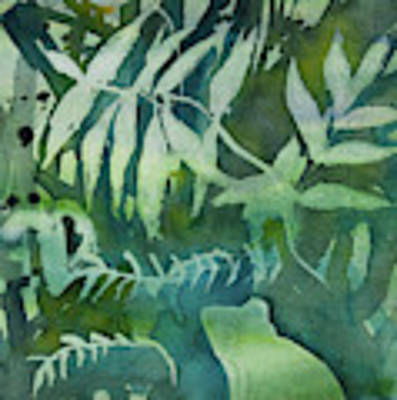 Watercolor - Tree Frog Design Poster by Cascade Colors