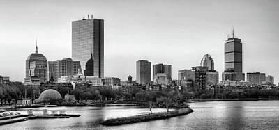 Designs Similar to Boston Skyline Black And White