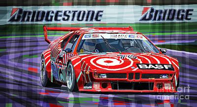 M1 Racing Prints