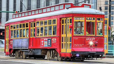 Designs Similar to Canal Street Streetcar