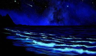 Astronomical Art Paintings Original Artwork