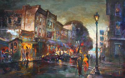 People Walking Paintings
