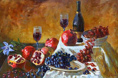 Pomgranate Art