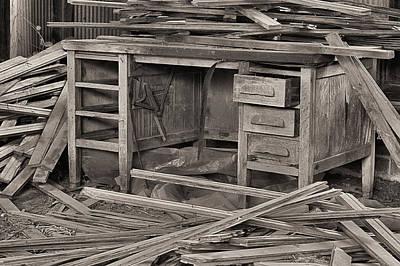 A Cluttered Desk Photographs