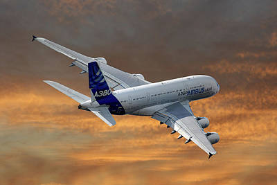 Airbus A380 Posters