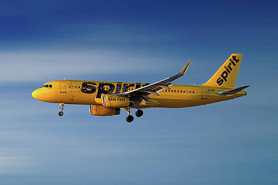 Spirit Airlines Art