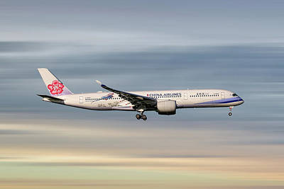 Designs Similar to China Airlines Airbus A350-941