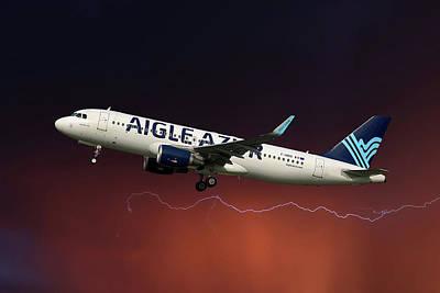 Designs Similar to Aigle Azur Airbus A320-214