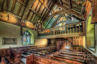 Designs Similar to Ancient Chapel Interior