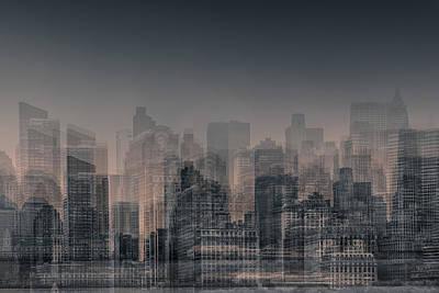 Urban Scenes Digital Art