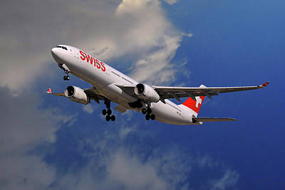 Designs Similar to Swiss Airbus A330-343
